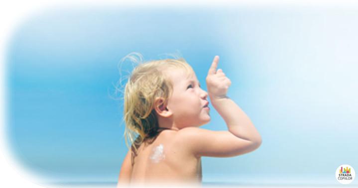 Crema solara de protectie copii. Crema solara sigura pentru copii