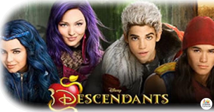 Descendentii papusi, carti si accesorii Disney Descendants