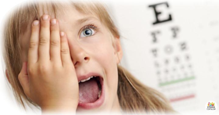Miopia la copii. Tulburari de vedere la copii - joaca si temele
