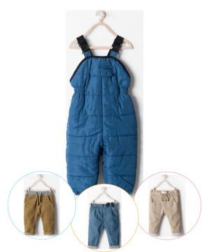 Pantaloni iarna Zara bebelusi