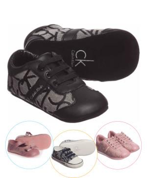 Pantofi Calvin Klein bebe