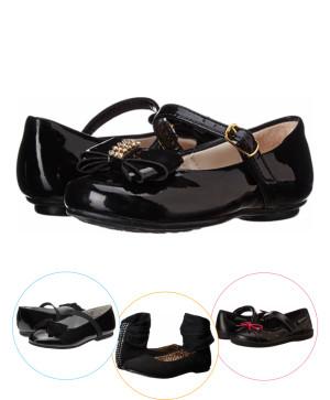 Pantofi copii eleganti negri