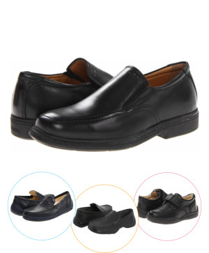 Pantofi piele scoala baieti