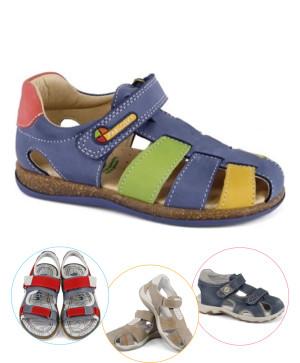 Sandale copii piele baieti