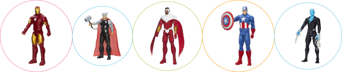 Jucarii Avengers figurine supereroi
