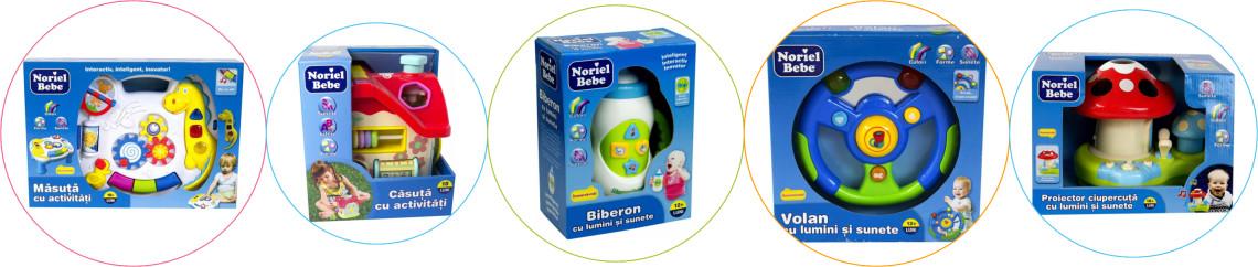 Jucarii copii 1 an Noriel bebe