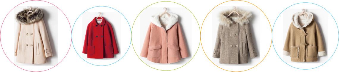 Palton Zara fete