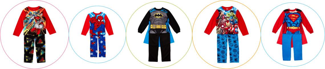 Pijamale supereroi baieti