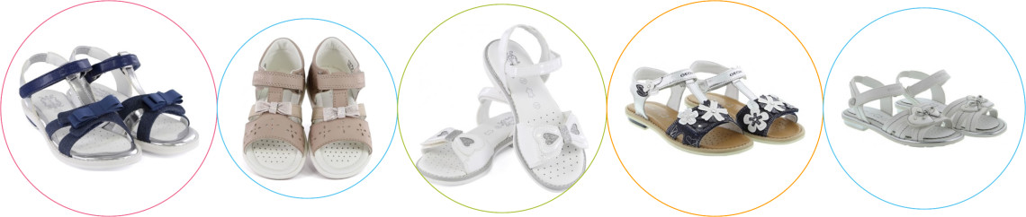 Sandale copii Geox
