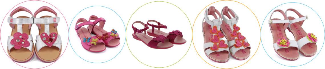 Sandale piele copii Agatha Ruiz de la Prada